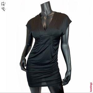 Ali Ro - V Neck Little Black Dress